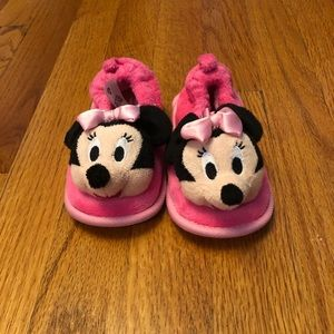 Other - Toddler Minnie Mouse Slippers